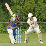 Awais Khan smashes through cover