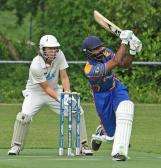 Aggressive batting by Ali Raza