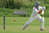 Adeel Raja plays through gully