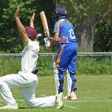 Mohsin Bajwa survives a big appea