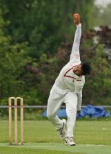 Shreyas Potdar bowling leggies