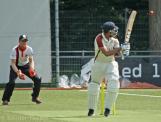 Vinoo Tewarie plays at a wide one