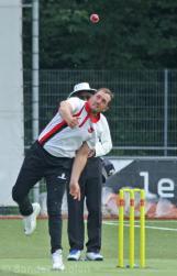 Wesley Barresi bowling