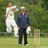 Anees Davids coming in to bowl