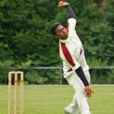Asief Hoseinbaks bowling