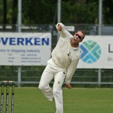 Dan ter Braak gives the ball some air