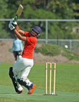 Rehmed swings at a wide one