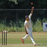 Sanjeet Shankar bowling