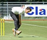 Young pacer Hoornweg giving his all