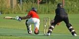 Rehmed plays the wrong shot at the wrong ball