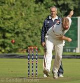Pierce Fletcher opens the bowling for VOC