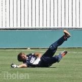 ...and Daan Vierling takes a great catch