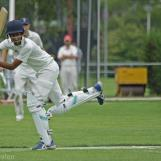 Aryan Kumar clips to leg