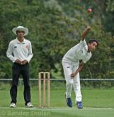 Aryan Kumar bowling