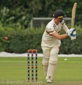 Van Baren plays at a wide