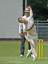Freddie Klassen bowling