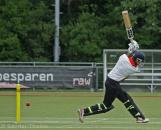 Singh scores through fine leg