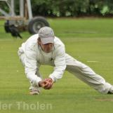 ...and Peter Borren takes another fine catch
