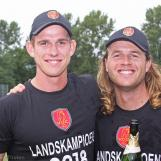 Fred Klaassen and Max O'Dowd
