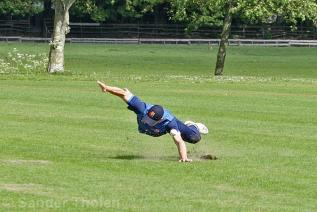 Sebastian Braat's athletic miss