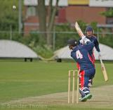 Smit scores over cover...