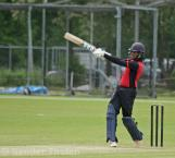 Vikram Singh goes over the top
