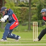 Gently played to leg by Croes