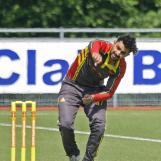 Taruwar Kohli bowling for Dosti