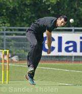Gibson opens the bowling for HBS