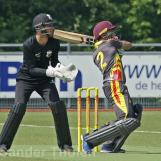 Rahil Ahmed scores over square