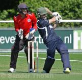 Rupert Young goes for the runs