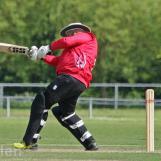 Gargandeep Singh hits hard and straight