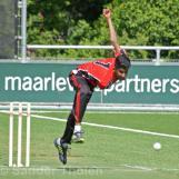 Aryen Kumar bowling