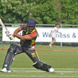 Kuldeep Diwan belts one through extra