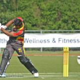 Diwan plays a power drive