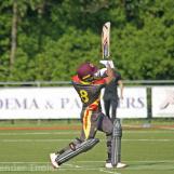 Arief Hoseinbaks hits a big six