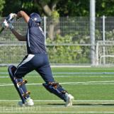 Diwan plays a cover drive
