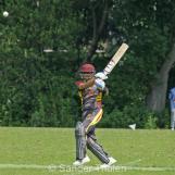 Taruwar Kohli pulls for four