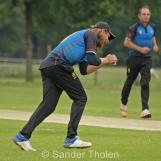 ...and Matt Lake takes a straight-forward catch at backward point