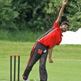 Devanshu Arya spinning away