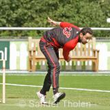 Bobby Hanif bowling
