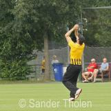 ...where Douwe Walhain takes an important catch