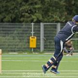 Thijs van Schelven scores a boundary with a clip-shot