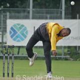 Brenton Parchment bowling