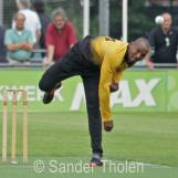 Brenton Parchment bowling for Excelsior
