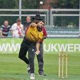 Umar Baker spinning
