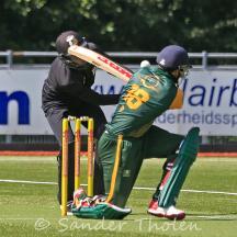 Rehmet Zulfiqar 'scores'a wide-four