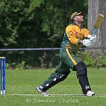 Hard, high and far; another six by Usman