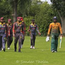 Nidamanuru and Saqib have brought it in for Punjab