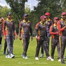 In spite of the loss the Dosti boys seem in good spirit
